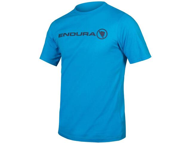 Endura One Clan Light Camiseta Hombre, neon blue